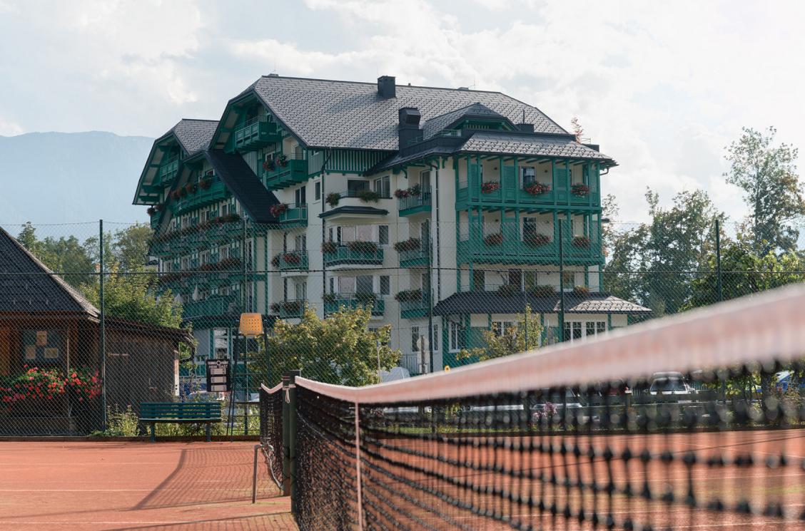 Das Hotel Seevilla in der Steiermarkt