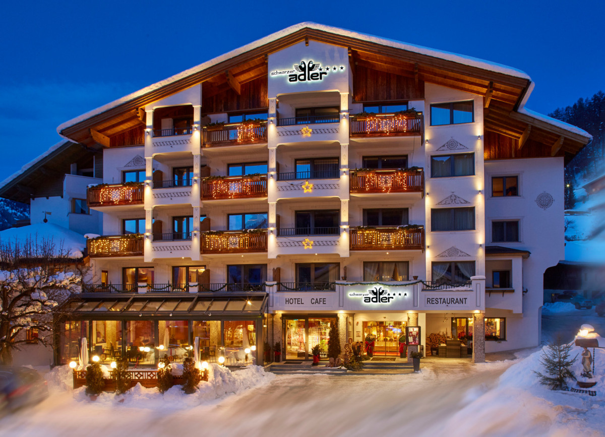 Das Hotel Schwarzer Adler