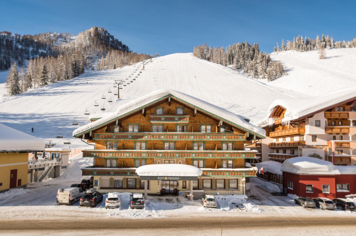 Das Wellnesshotel Alpenrose in Zauchensee