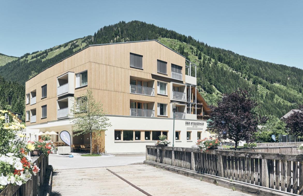 Das Hotel Stegerhof in der Steiermark