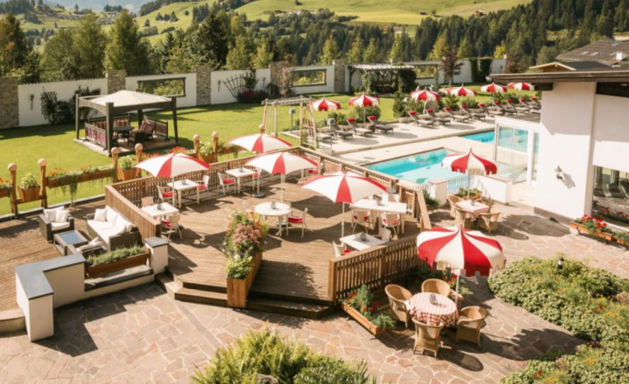 Außenansicht Hotel Fisserhof in Tirol