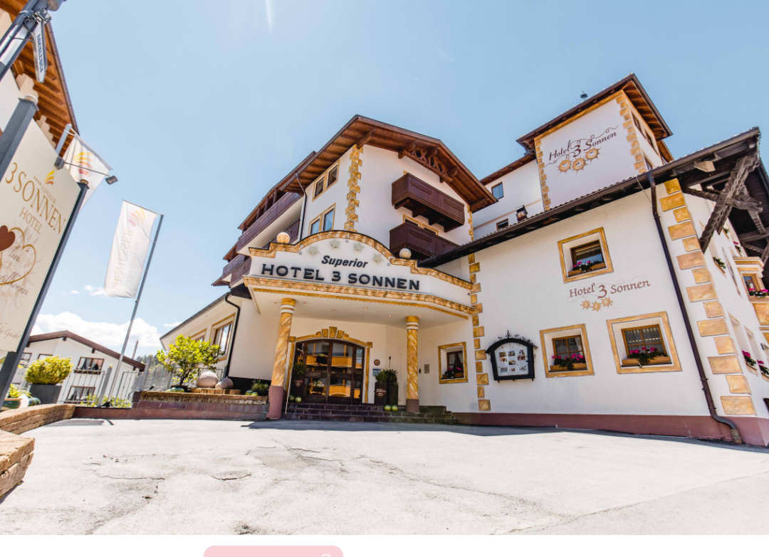 Das Hotel Drei Sonne in Tirol