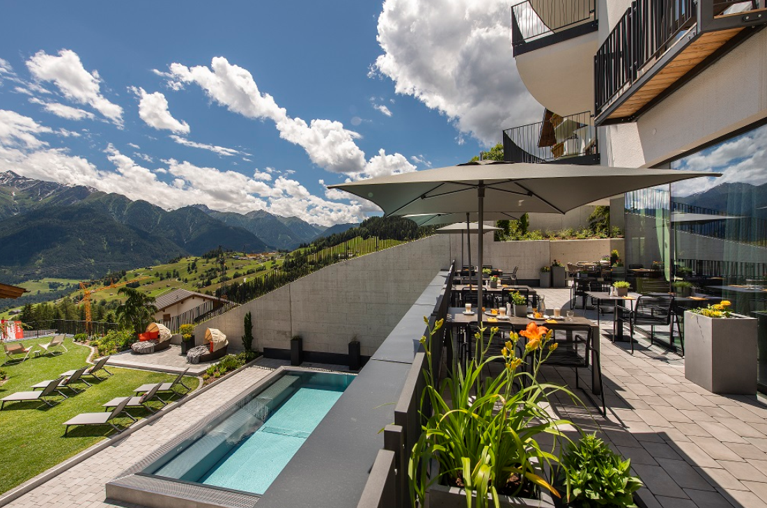 Das Hotel Nagalu in Tirol