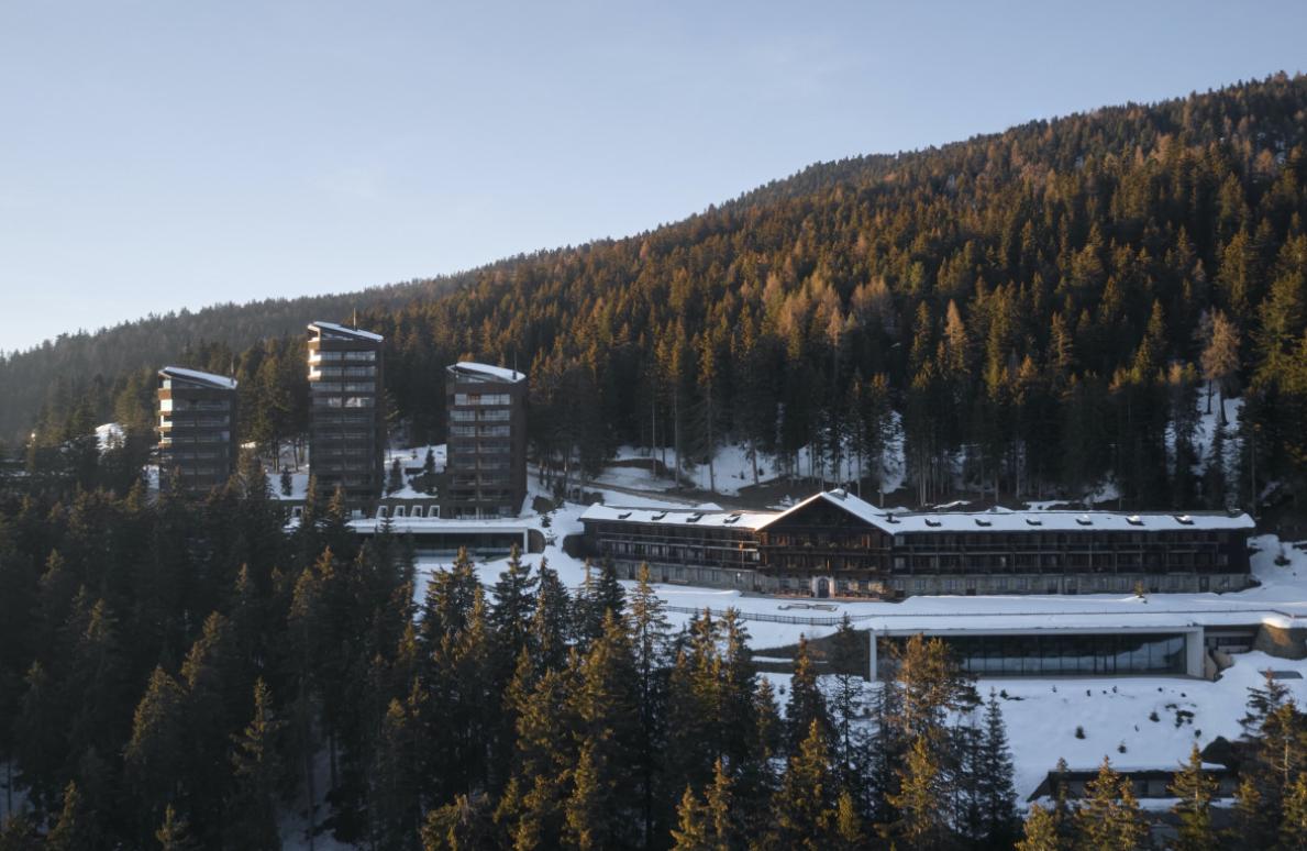 Das Hotel Forestis in Südtirol/Italien