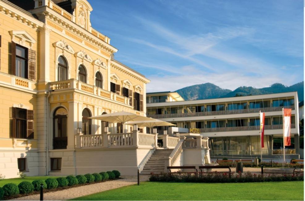 Außenansicht Villa Seilern Vital Resort