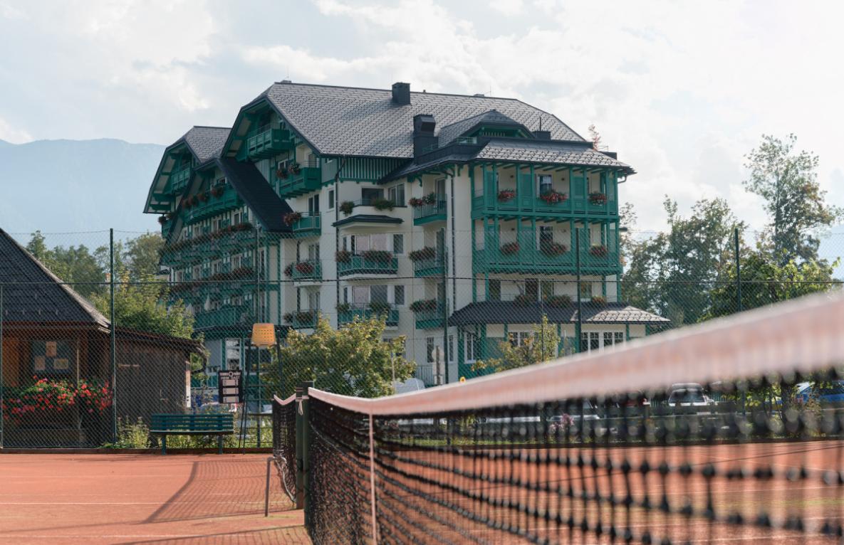 Das Hotel Seevilla in der Steiermark