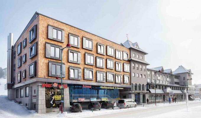 Außenansicht Alpenhotel Perner