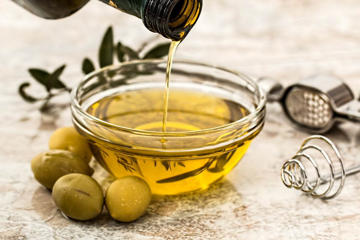 Olivenöl Nahaufnahme