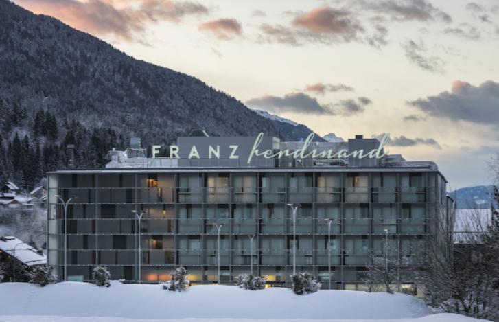 Das Hotel Franz Ferdinand-Mountain Resort Nassfeld