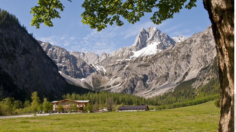 Die Gramai Alm in Tirol